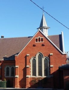 Church from Coppin Street