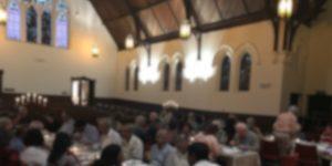 Cultural dinner in church