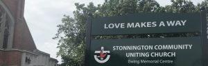 Stonnington Community Uniting Church Sign