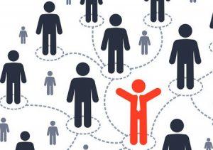 Network of people diagram
